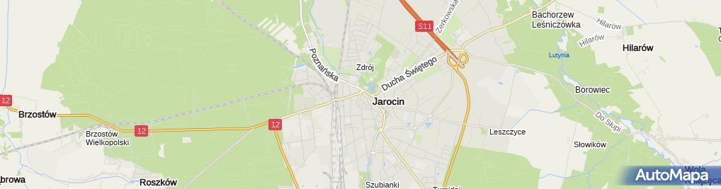 Zdjęcie satelitarne Pub Piwnica Jan