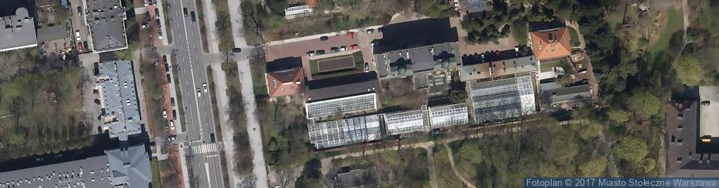 Zdjęcie satelitarne Ogród Botaniczny