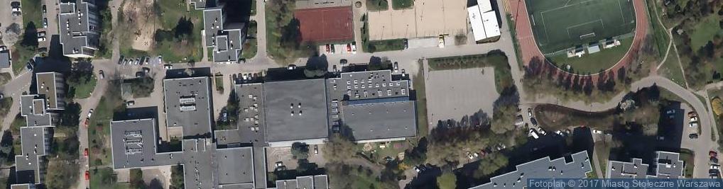 Zdjęcie satelitarne Koncertowa