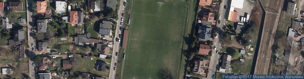 Zdjęcie satelitarne GKS Świt