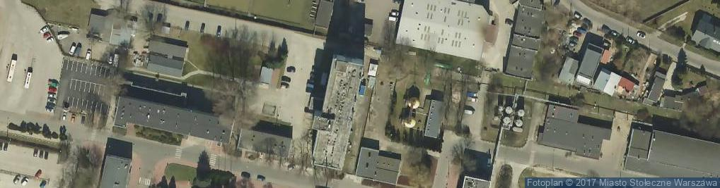Zdjęcie satelitarne Samex