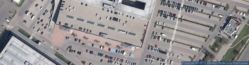 Zdjęcie satelitarne Centrum Krakowska