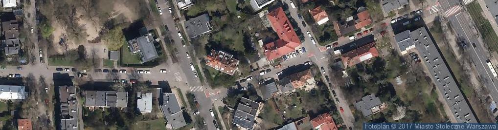 Zdjęcie satelitarne Tokamak Sp. z o.o.