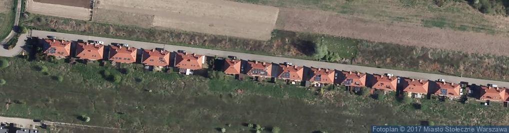 Zdjęcie satelitarne Wawer