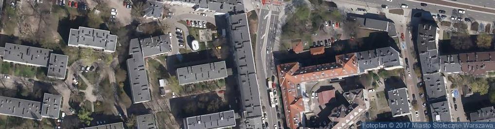 Zdjęcie satelitarne Tania odzież