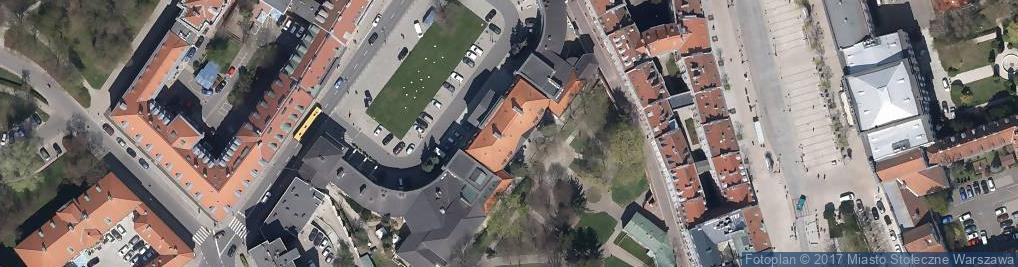 Zdjęcie satelitarne Pałac Prymasowski nr 13/15