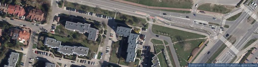 Zdjęcie satelitarne Urząd Pocztowy 46