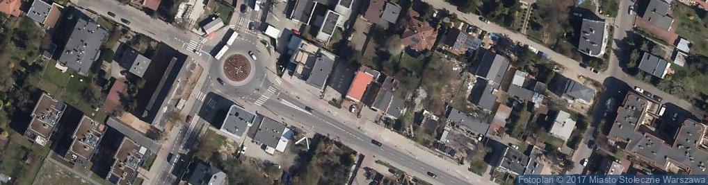 Zdjęcie satelitarne Centrum Medyczne Zdrowie