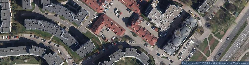 Zdjęcie satelitarne Media Centrum