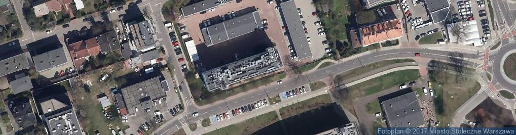 Zdjęcie satelitarne RWE Stoen S.A. Centrum Obsługi Klientów