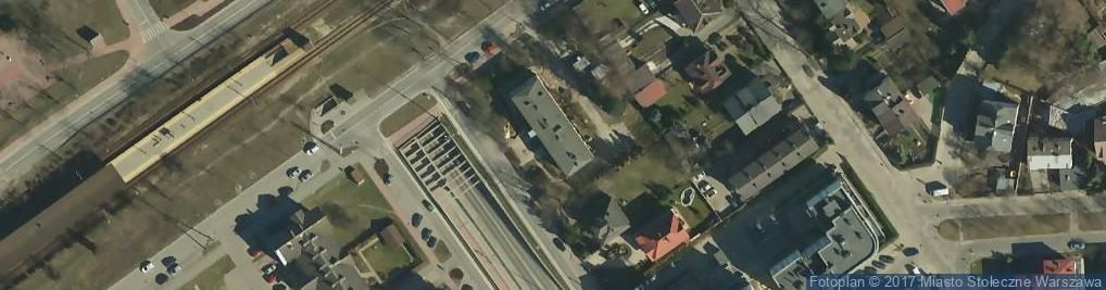 Zdjęcie satelitarne Przychodnia