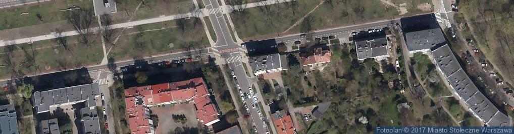 Zdjęcie satelitarne Wojewódzki Ośrodek Medycyny Pracy