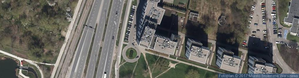 Zdjęcie satelitarne Rowery