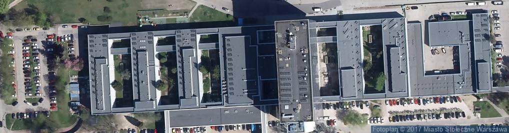 Zdjęcie satelitarne Centrum Zdrowia Dziecka