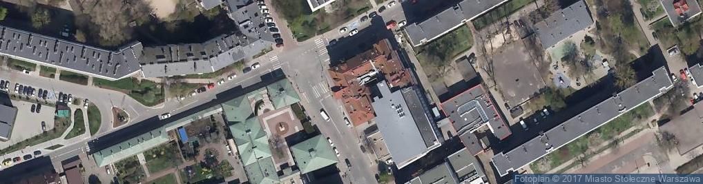 Zdjęcie satelitarne Szpital Położniczo Ginekologiczny Św. Zofii