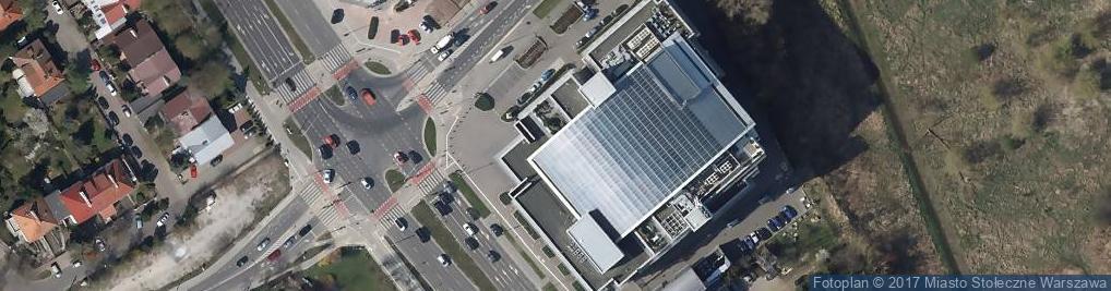 Zdjęcie satelitarne TVN S.A.