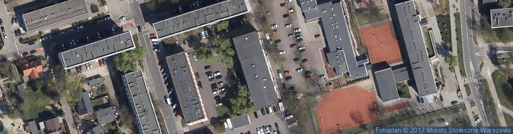 Zdjęcie satelitarne Izba Celna w Warszawie