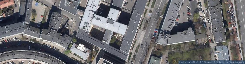 Zdjęcie satelitarne Ministerstwo Spraw Zagranicznych