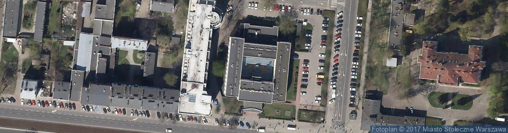 Zdjęcie satelitarne Urząd Dzielnicy Praga Południe