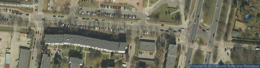 Zdjęcie satelitarne Centrum Dydaktyczne WUM