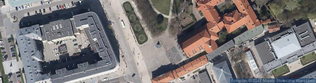 Zdjęcie satelitarne Warszawa Pomnik Prymasa Wyszyńskiego P3288966 (Nemo5576)