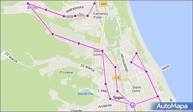 Rozkład jazdy autobusu 187 na przystanku Sopot Dworzec PKP. ZKMGdynia na mapie Targeo