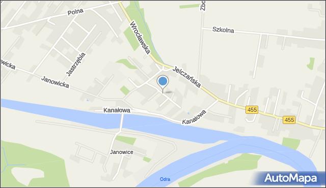 Jeszkowice, Bażantowa, mapa Jeszkowice