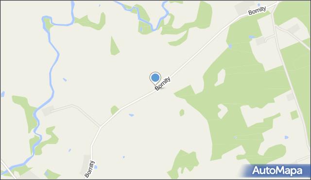 Bornity, Bornity, mapa Bornity