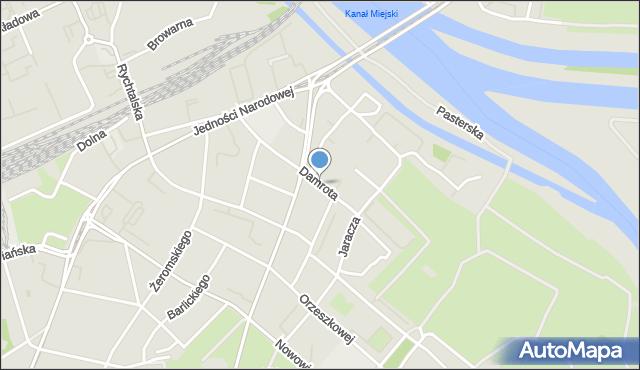 Wrocław, Damrota Konstantego, ks., mapa Wrocławia