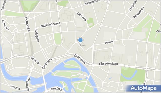 Wrocław, Kilińskiego Jana, płk., mapa Wrocławia