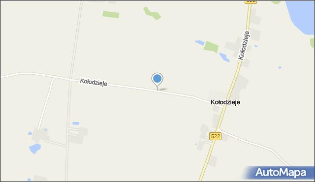 Prabuty, Kołodzieje, mapa Prabuty