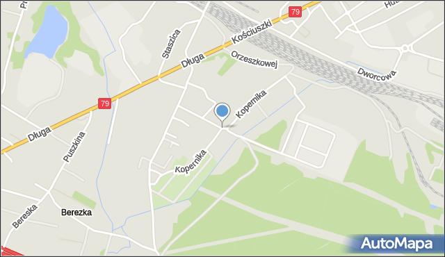 Trzebinia, Kopernika Mikołaja, mapa Trzebinia