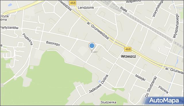 Gdańsk, Matki Polki, mapa Gdańska