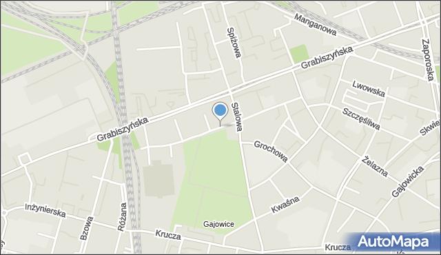 Wrocław, Oporowska, mapa Wrocławia