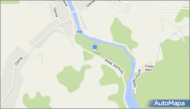 Siedlęcin, Perła Zachodu, mapa Siedlęcin