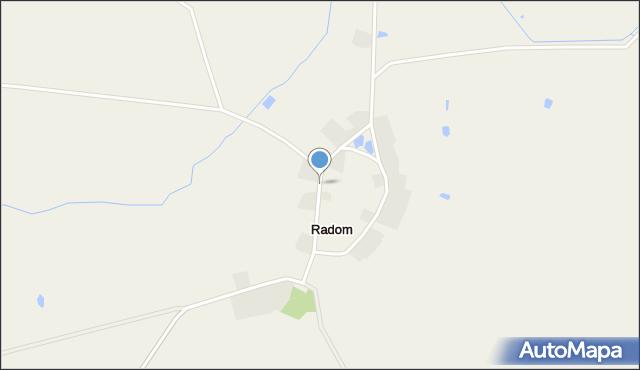 Radom, Radom, mapa Radomia