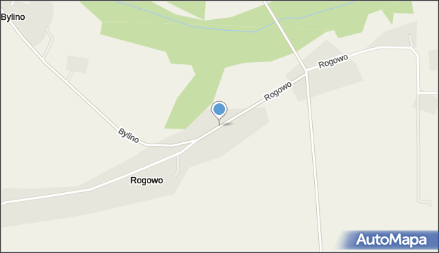 Rogowo, Rogowo, mapa Rogowo