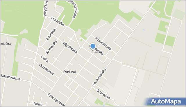 Zgierz, Robotnicza, mapa Zgierz