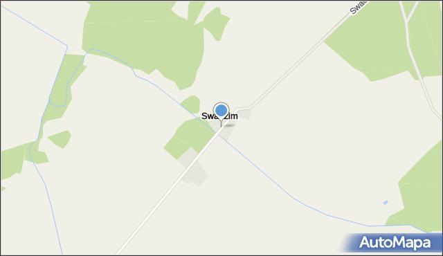 Swadzim, Swadzim, mapa Swadzim