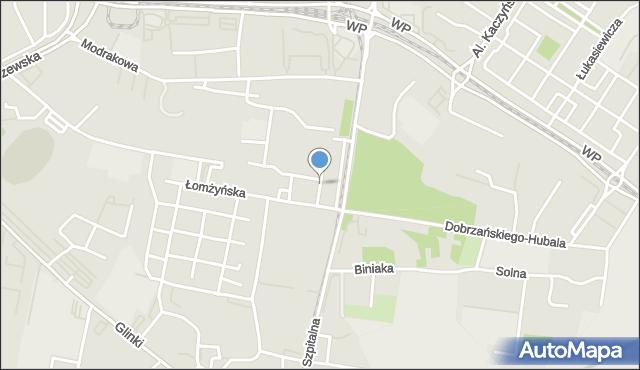 Bydgoszcz, Szara, mapa Bydgoszczy