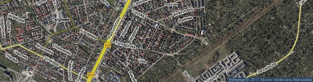 Zdjęcie satelitarne Agatowa