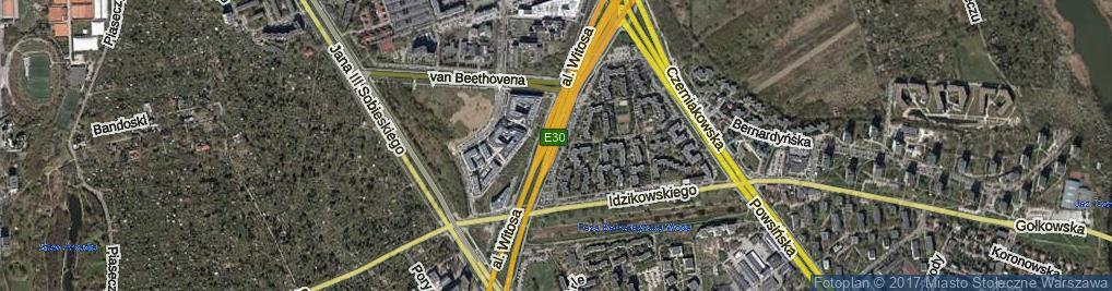 Zdjęcie satelitarne Aleja Witosa Wincentego