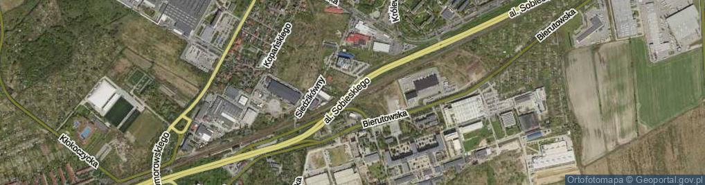 Zdjęcie satelitarne Aleja Króla Jana III Sobieskiego al.