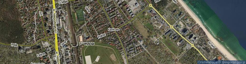 Zdjęcie satelitarne Architektów