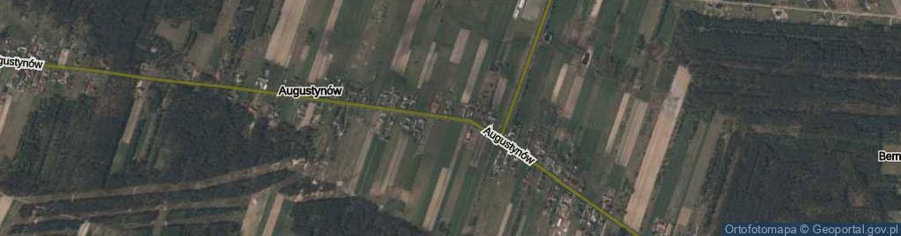 Zdjęcie satelitarne Augustynów ul.