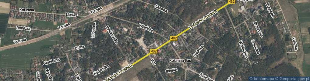 Zdjęcie satelitarne Bazarowa