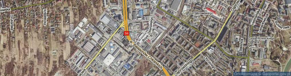 Zdjęcie satelitarne Boya-Żeleńskiego Tadeusza