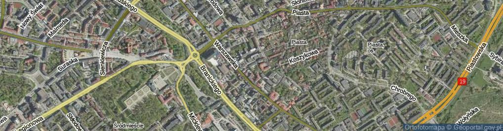 Zdjęcie satelitarne Bukowskiego Stanisława ul.