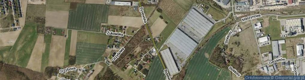 Zdjęcie satelitarne Bysewska ul.