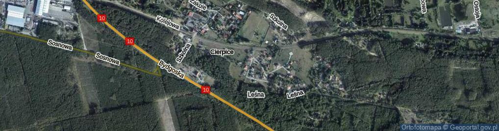 Zdjęcie satelitarne Cicha
